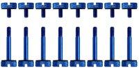 Corsair Crystal Series 570X Anodized Aluminum Thumbscrews - Blue