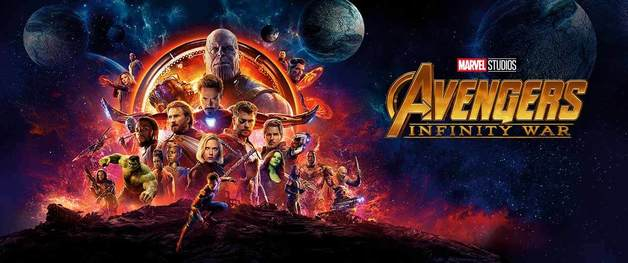 Avengers: Infinity War on DVD