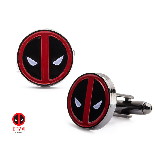Marvel: Deadpool - Logo Cufflinks