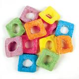 Sour Squares Lollies 1kg - Rainbow Confectionery