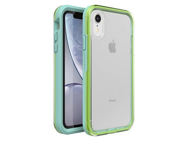 timeless design 47144 27aac Lifeproof: Slam Case for iPhone XR - Sea Glass Clear Lime