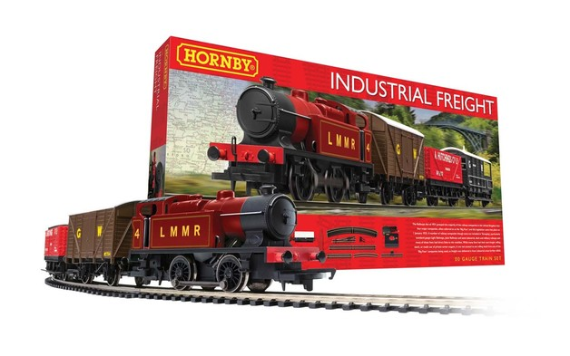 Hornby: Industrial Freight Train Set
