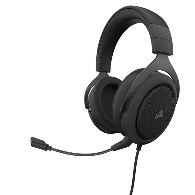 Corsair HS50 Pro Gaming Headset (Carbon) for PC