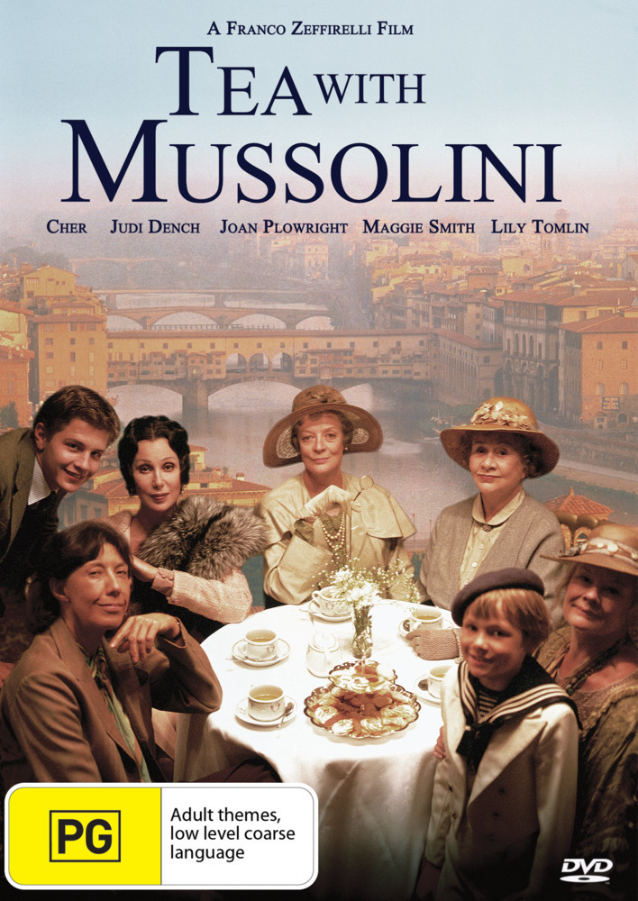 Tea With Mussolini on DVD image