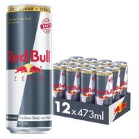 Red Bull Zero Energy Drink 473ml Cans (12 Pack)