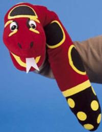 Jolly Phonics Puppet - Snake image