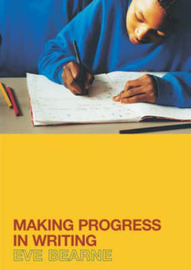 Making Progress in Writing by Eve Bearne image