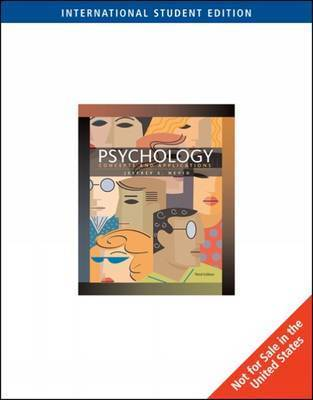 Psychology: Concepts and Applications by Jeffrey S Nevid