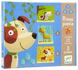 Djeco - Primo Dogs Puzzles