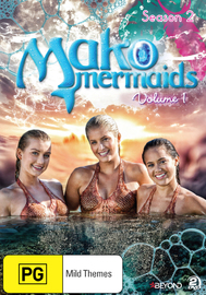Mako Mermaids - Season 2 Volume 1 on DVD