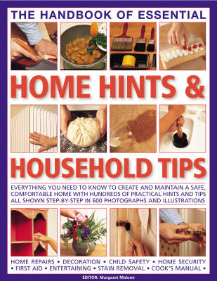 The Handbook of Essential Home Hints and Household Tips by Margaret Malone image