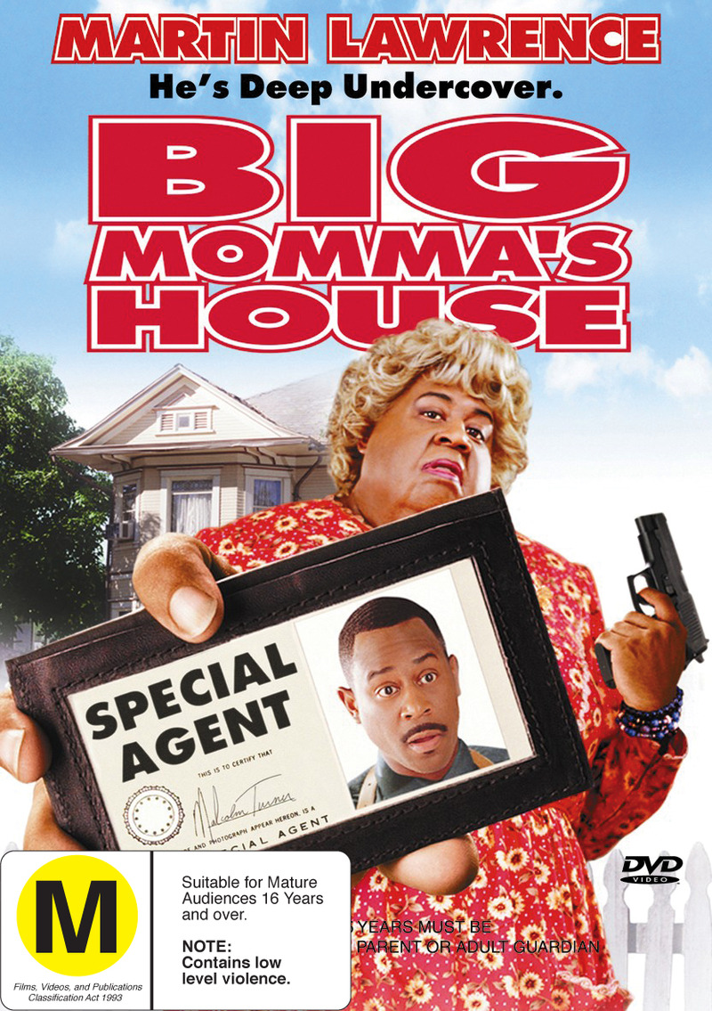Big Momma's House on DVD image