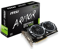 MSI GeFroce GTX 1080 Armor OC 8GB Graphics Card image