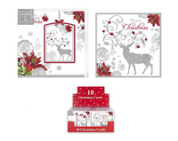 RSW: Boxed Christmas Cards - Reindeer (10 Pack)