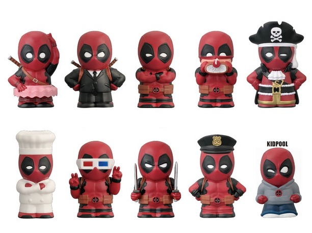 Deadpool: Finger Mascot - Mini-Figure (Blind Box) image