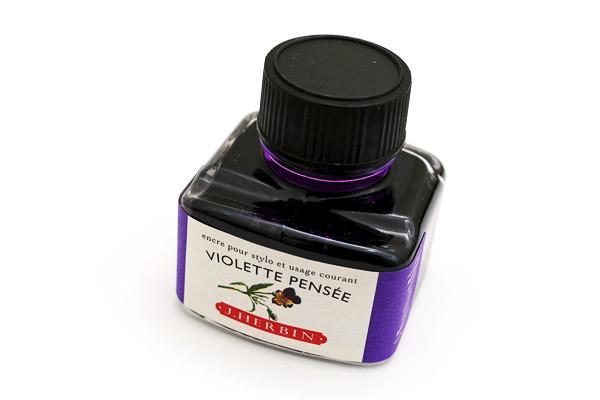 J Herbin: Fountain Pen Ink - Violette Pensee (30ml) image