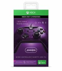 PDP Wired Controller for Xbox One - Purple for Xbox One image