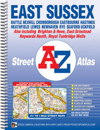East Sussex Street Atlas by Geographers A-Z Map Company