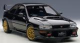 AUTOart: 1/18 Subaru Impreza 22b (Black) - Diecast Model