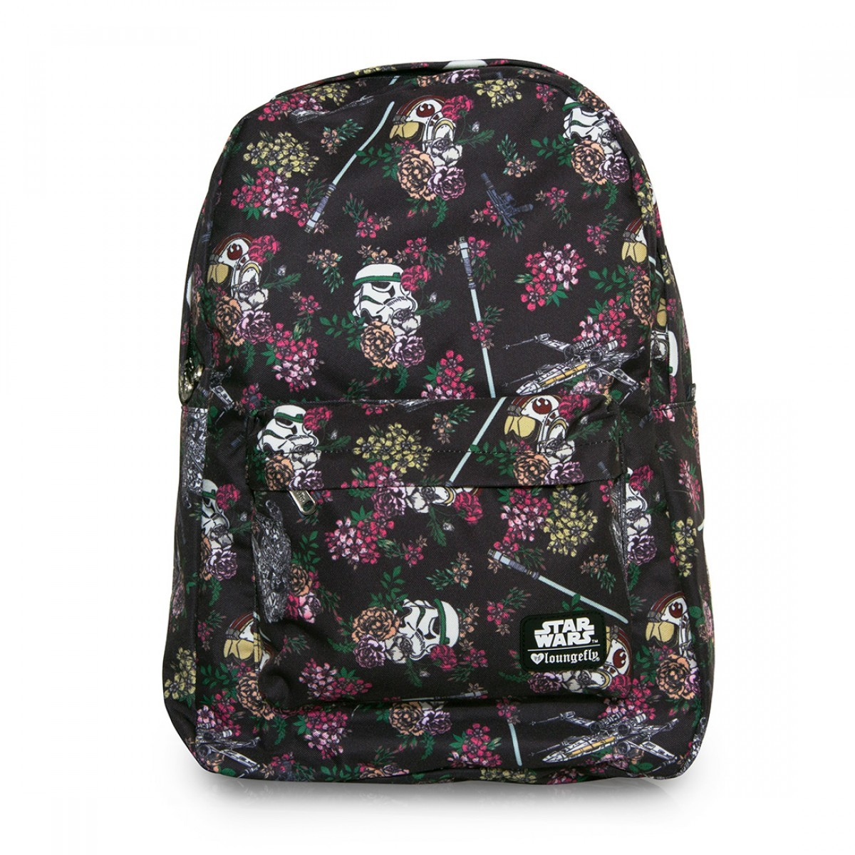 Loungefly Star Wars Floral Stormtrooper Backpack image