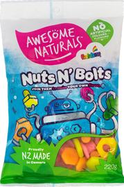 Awesome Naturals - Nuts & Bolts (220g)