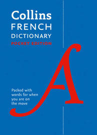 Collins French Pocket Dictionary by Collins Dictionaries