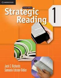 Strategic Reading Level 1 Student's Book by Jack C Richards