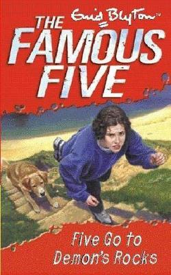 Five Go to Demon's Rocks by Enid Blyton image