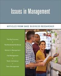 Issues in Management by Sage Business Researcher
