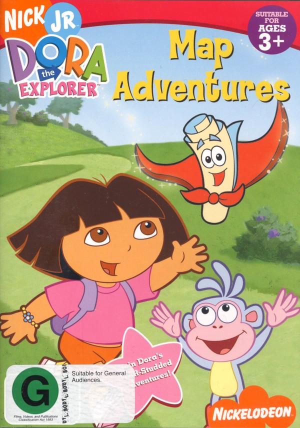 Dora The Explorer - Map Adventures on DVD image
