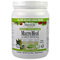 MacroLife Naturals MacroMeal Vegan Vanilla (15 servings) image