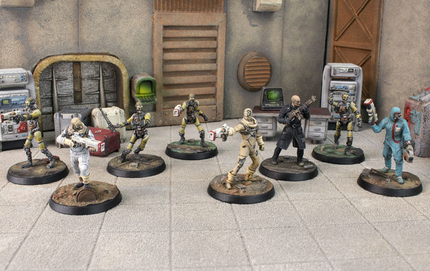 Fallout: Wasteland Warfare Institute Core Box