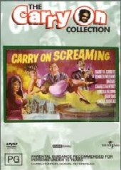 Carry On Screaming on DVD
