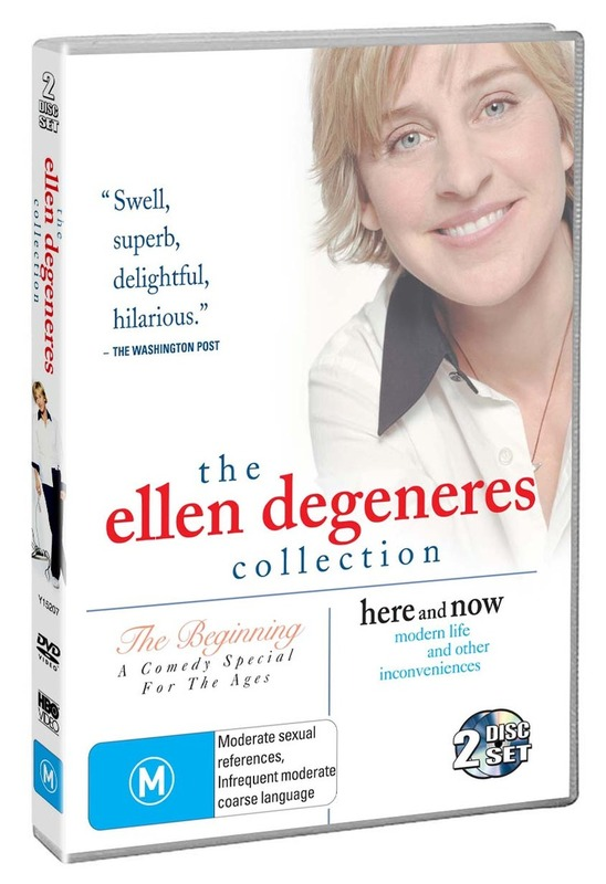 The Ellen DeGeneres Collection (The Beginning / Here And Now) (2 Disc Set) on DVD