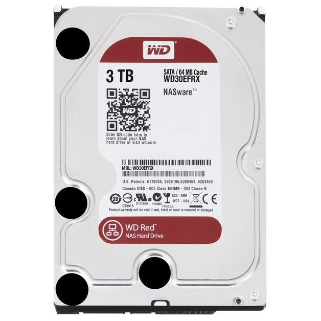 3TB WD Red HDD 5400 RPM
