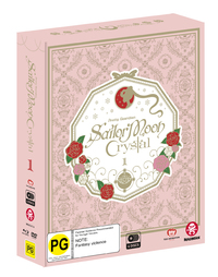 Sailor Moon Crystal Set 1 Limited Edition (DVD/BR) on Blu-ray