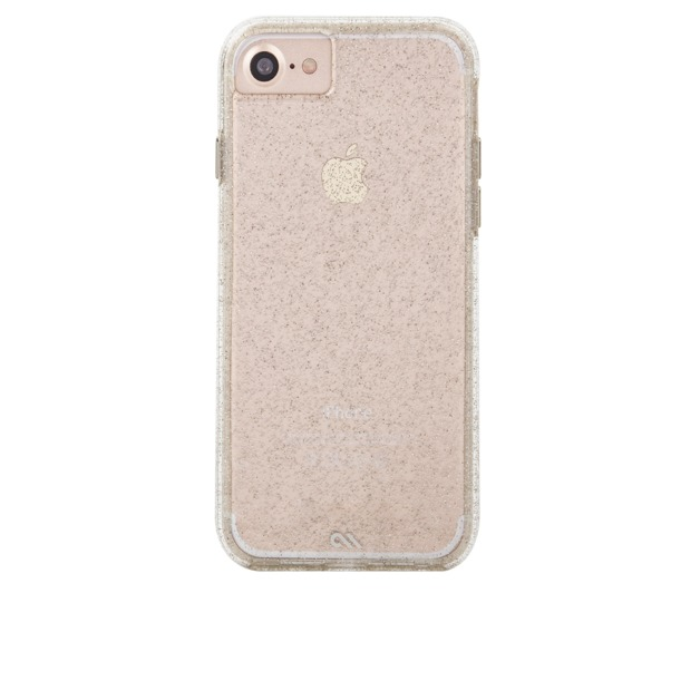 CASEMATE iPhone 7 Naked Tough Sheer Glam Case - Champagne