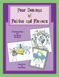 Four Seasons of Fairies and Flowers by Lisa R Davis image