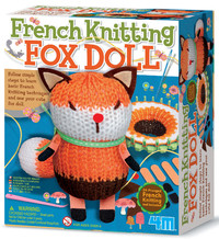 4M: Craft - French Knitting Fox Doll