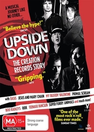 Upside Down - The Story of Creation Records on DVD