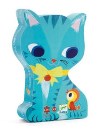 Djeco: Pachat Silhouette - 24pc Puzzle