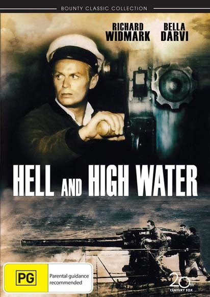 Hell and High Water on DVD image