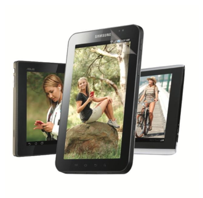 Gecko Clear Screen Protector for Tablet - 2 Pack image