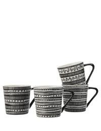 Maxwell & Williams Mug Set of 4 - Aztec (400ML)