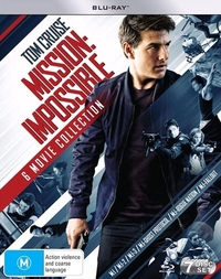 Mission Impossible 1-6 Movie Collection on Blu-ray