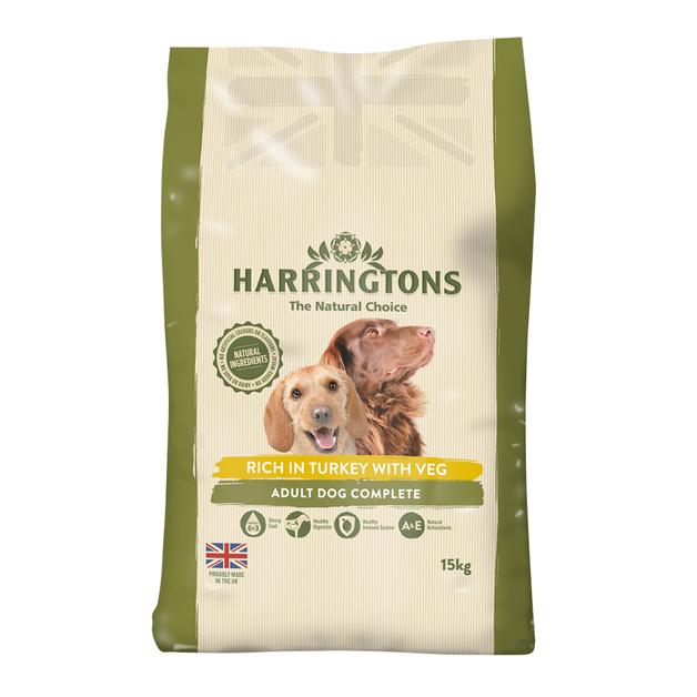 Harringtons: Dog Food Turkey & Vegetable (15kg)