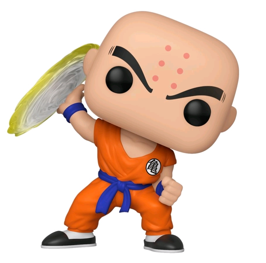 Dragon Ball Z - Krillin (with Destructo Disc) Pop! Vinyl Figure image