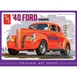 AMT 1940 Ford Coupe Orange 1/25 Model Kit