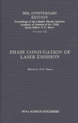 Phase Conjugation of Laser Emission