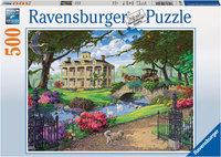 Ravenburger - Visiting The Mansion Puzzle (500pc)